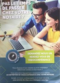 Votre notaire à Saint-Pierre-lès-Elbeuf est équipé de la visio-conférence